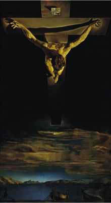 Salvador Dali's Christ of St. John of the Cross