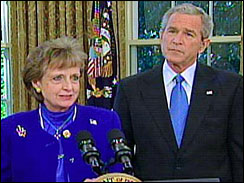 Harriet Miers & Friend