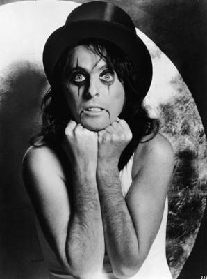 Alice Cooper Then