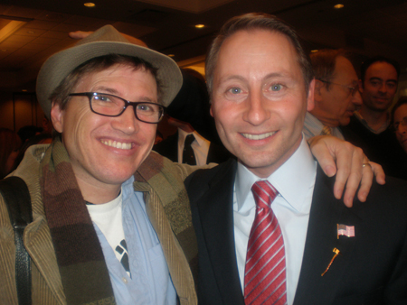 jc & Rob Astorino on Election Night